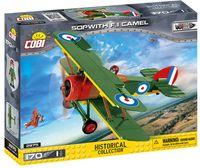 COBI-2975 Sopwith F1 Camel Flygplan i hela 170 Delar