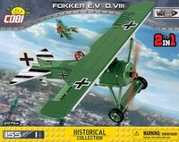 COBI-2976A Fokker E.V (D.VIII) - Tyskt WW1 stridsflygplan