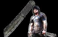 Gil Hibben RAMBO 4 machete