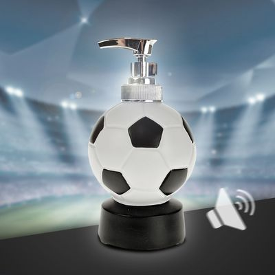 Tvålpump med ljudeffekter - Fotboll