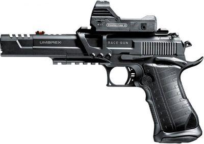Umarex Racegun, Kit med siktesbas och rödpunksikte 4,5mm