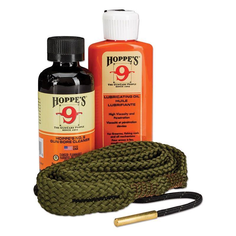 Hoppe's BoreSnake Rengöringskit 1-2-3 Done! Kal .22 (5,5mm) Pistol