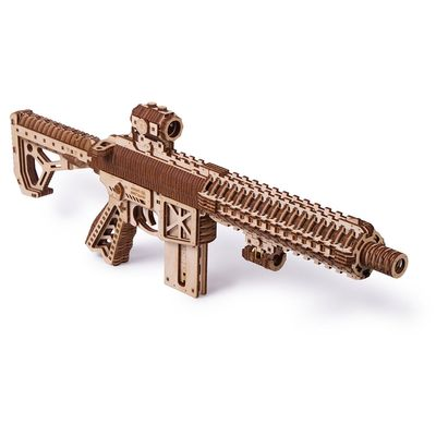 Wood Trick Wooden Model Kit - Assault Gun AR-T