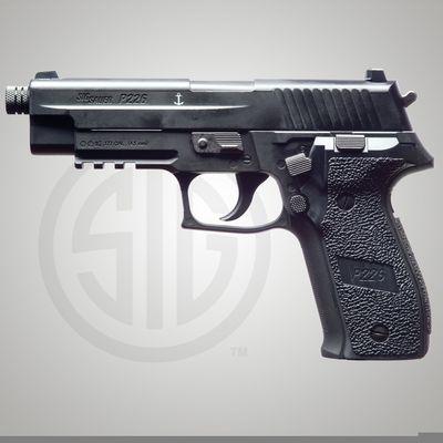 Sig Sauer P226 ASP Black 4,5mm