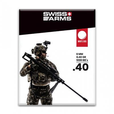 Swiss Arms 0,40g BB White - 1000 bbs
