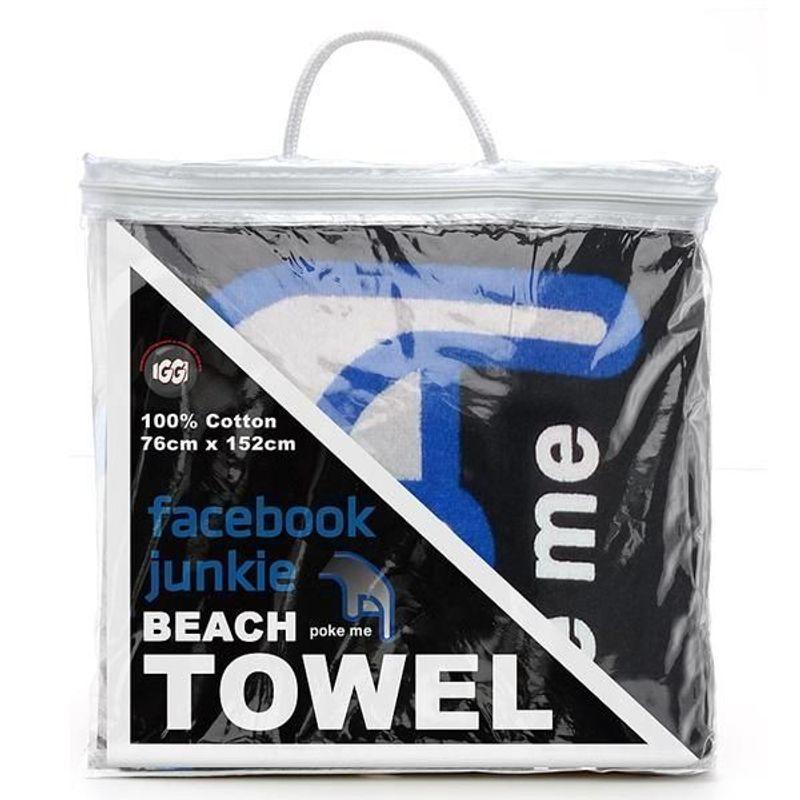 Facebook Junkie Handduk