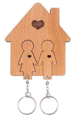 Nyckelhållare Pojke & Flicka