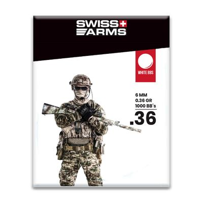 Swiss Arms 0,36g BB White - 1000 bbs