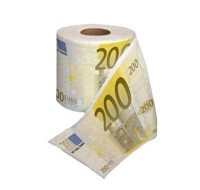 200 Eurosedlar Toalettpapper