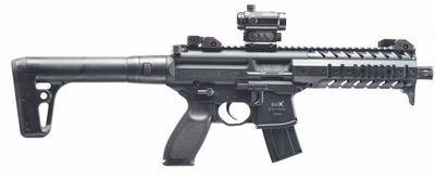 Sig Sauer MPX ASP 4,5mm Reddot Black