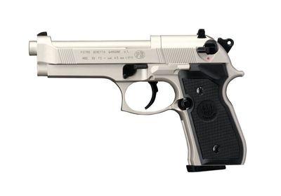 Beretta M92FS Silver plastgrepp kolsyrepistol