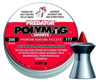 JSB Predator Polymag Shorts, 4,50mm - 0,520g