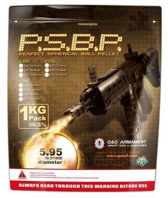 G&G Perfect BB 0,28g (Black) 1KG/Pack(3570R)
