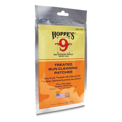 Hoppe's .22 Treated Patches Bag Draglappar