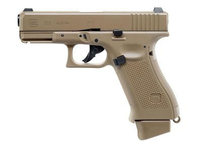 Glock 19X FDE 6mm Blowback