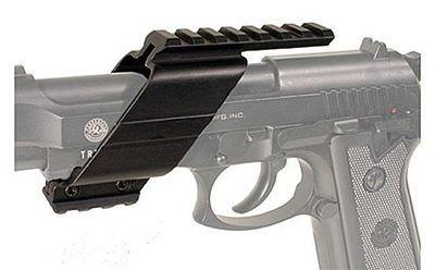 Scope Mount Base för pistoler, Universalmodell i aluminium