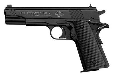 Colt 1911A1 Svart plastgrepp