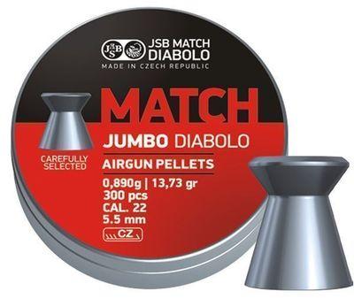 JSB Match Jumbo, 5,50mm - 0,890g - 300st