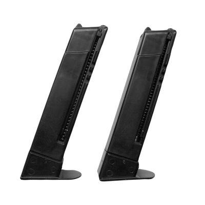 Magasin till Swiss Arms fjäderdrivna pistoler, 6mm (2-pack)