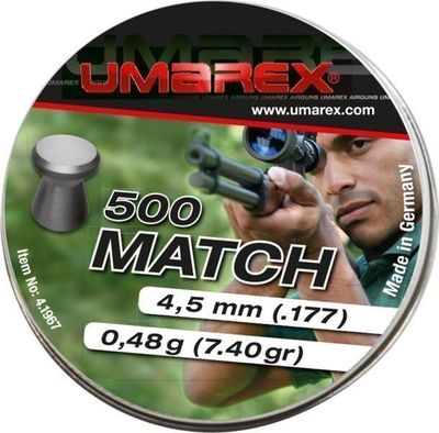 Umarex Match 4,5mm 500st