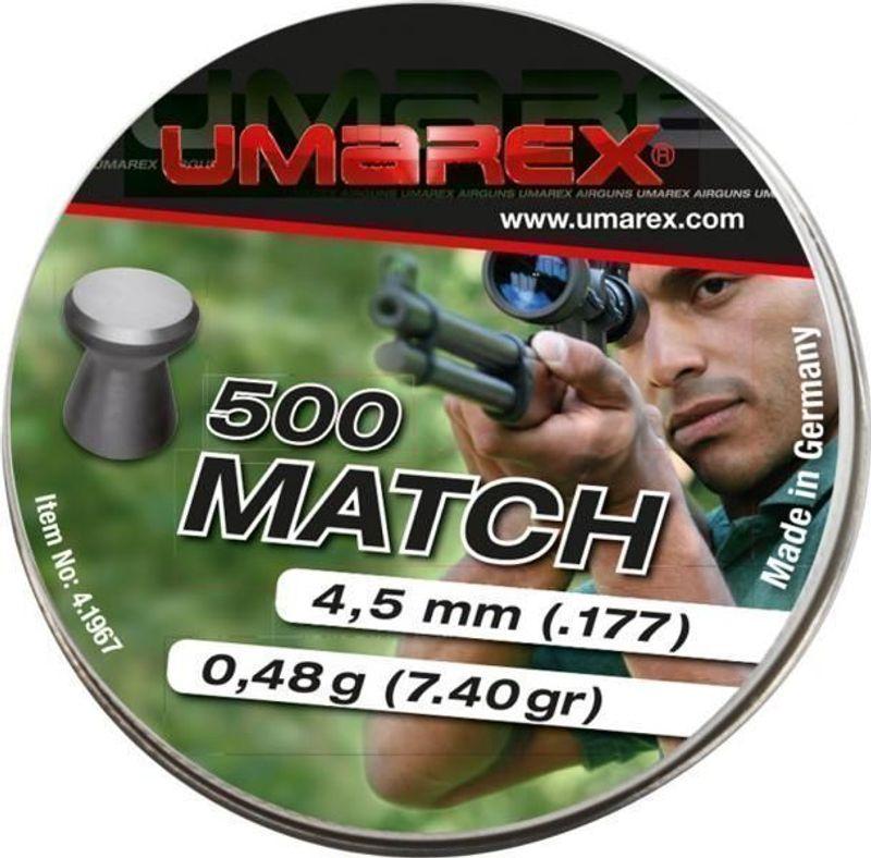Umarex Match 4,5mm 500st