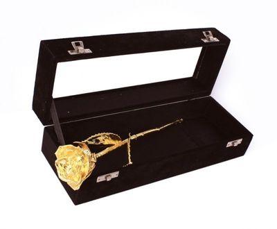 Ros Doppad i 24k Guld (svart ask)