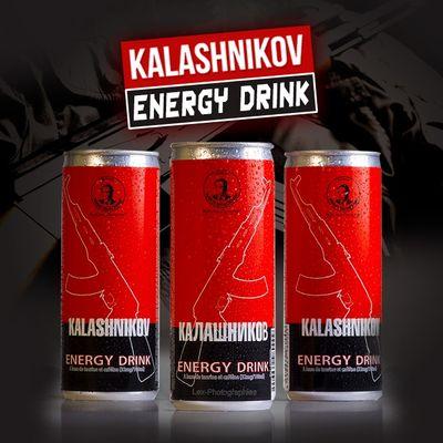 Kalashnikov Energidryck