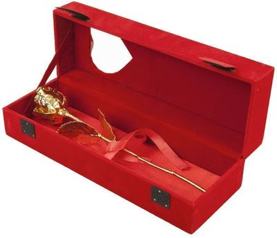 Ros Doppad i 24k Guld