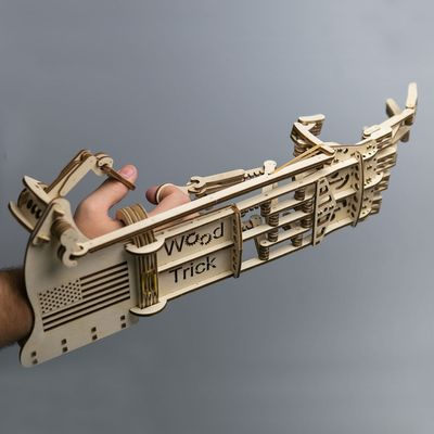 Wood Trick Wooden Model Kit - Mekanisk Hand