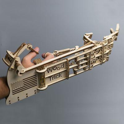 Wood Trick Wooden Model Kit - Mekanisk Hand
