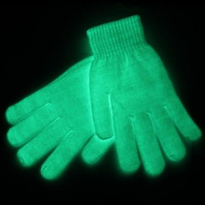 Självlysande Handskar