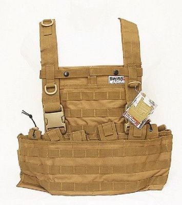 Swiss Arms Tactical Vest MOLLE System Tan