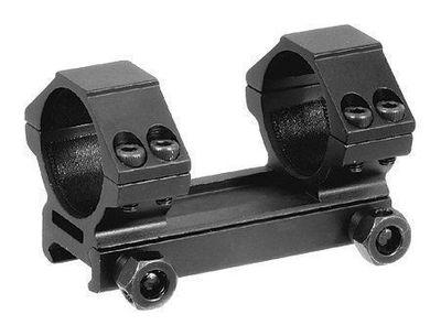 Kikarsiktesfäste - 30mm Låg, Weaver skena