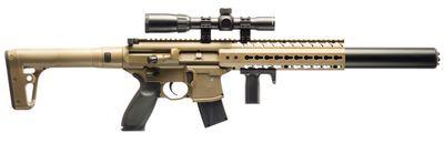 Sig Sauer MCX ASP 4,5mm med kikarsikte 1-4X24, FDE
