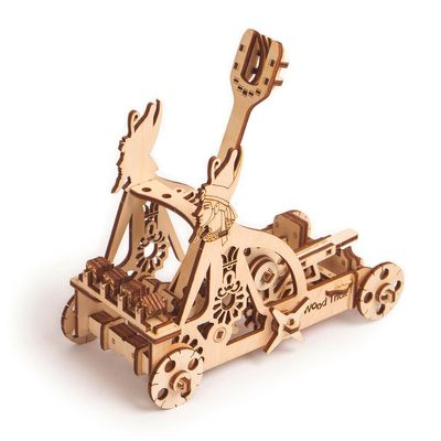 Wood Trick Wooden Model Kit - Katapult
