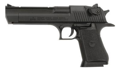 Desert Eagle.50AE Svart, fjäderdriven pistol