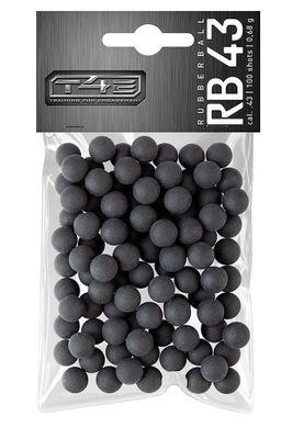 Gummikulor .43 till T4E, 100-pack