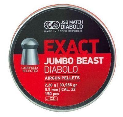 JSB Exact Jumbo Beast, 5,52mm - 2,200g - 150st