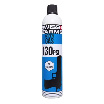 Swiss Arms 130PSI Green Gas No Silicone 760ml