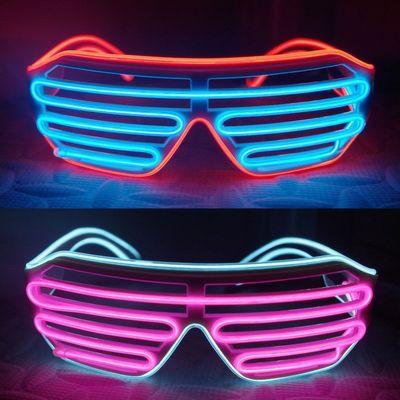 Blinkande Partyglasögon