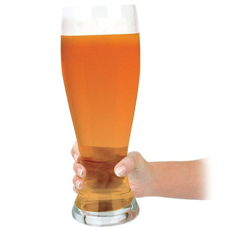 Enormt Ölglas