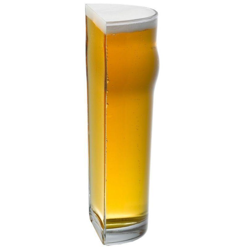 Halvt Ölglas