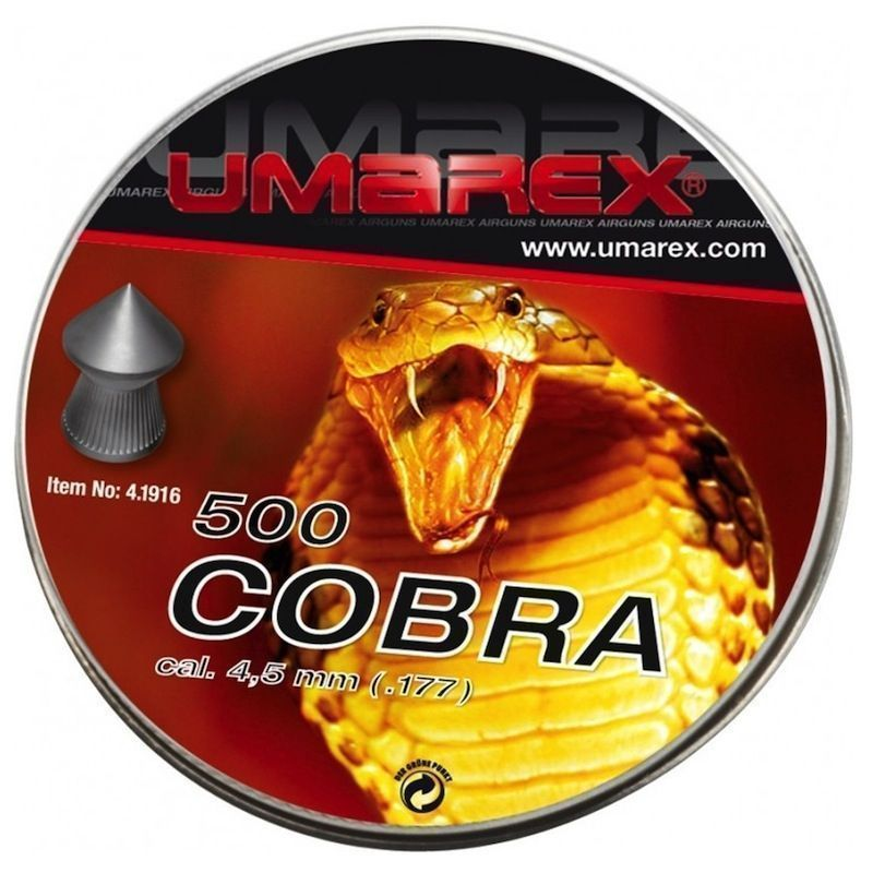 Umarex Cobra 4,5mm 500st
