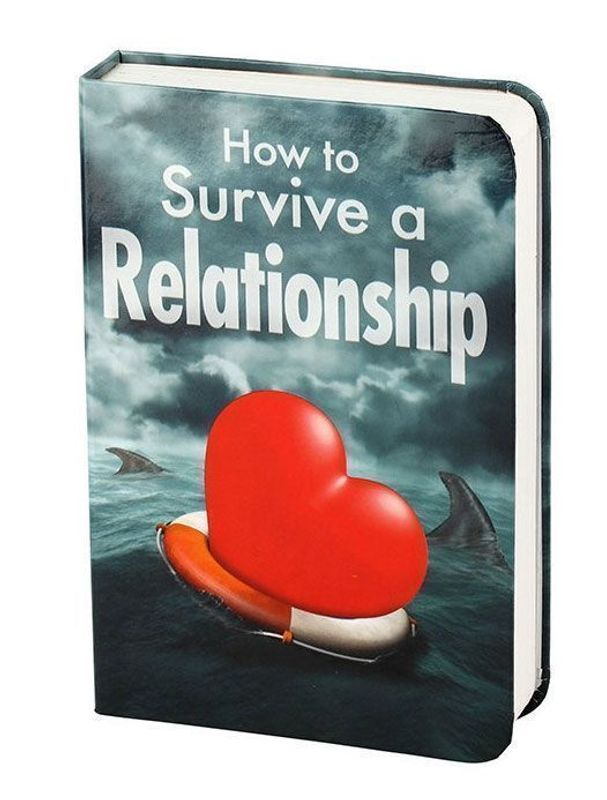 How To Survive A Relationship Book Flask