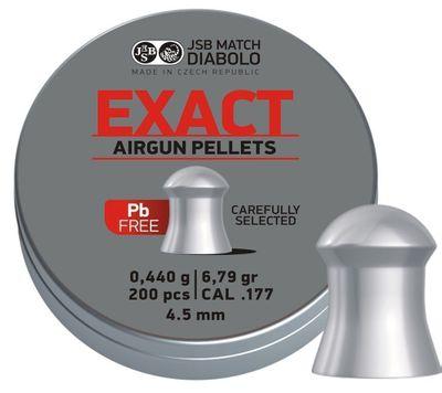 JSB Exact Diabolo lead free, 4,5mm - 0,440g