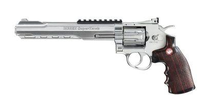 Ruger Superhawk Silver Revolver