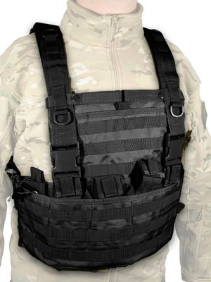 Swiss Arms Tactical Vest MOLLE System Black