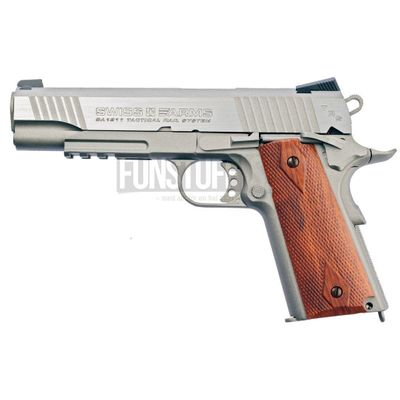 Swiss Arms SA 1911 Tactical Rail 4,5mm, Stainless