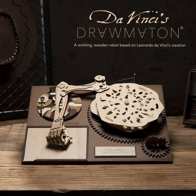 Robotime Da Vinci´s Drawmaton The Gambler - Drawing machine