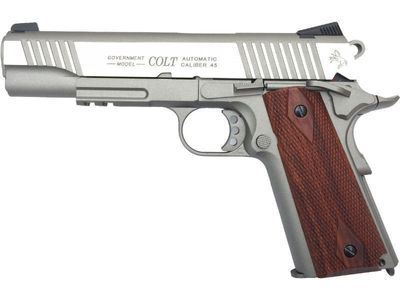 Colt 1911 Rail Stainless Co2 6mm